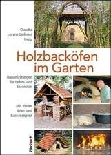 Holzbacköfen im Garten