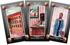 36 Geja-Kipperkarten mit Holzschatulle