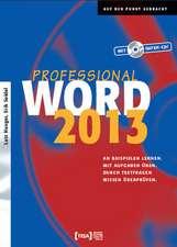 Word 2013 Professional Buch