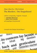 The Murders / Der Doppelmord -- Lektüre zweisprachig,  Englisch / Deutsch,