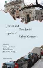 Jewish and Non-Jewish Spaces in Urban Context:  Zur Politik Des Wissens Von Mensch Und Tier Um 1900