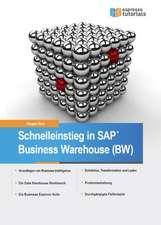 Schnelleinstieg in SAP Business Warehouse (BW)