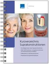 Kurzverzeichnis Suprakonstruktionen