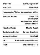 Mischa Kuball:  Public Preposition