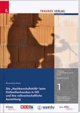 """Die """"Nachbarschaftshilfe"""" beim Einfamileinhausbau in OÖ und ihre volkswirtschafltiche Auswirkung"""