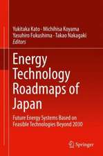 Energy Technology Roadmaps of Japan: Future Energy Systems Based on Feasible Technologies Beyond 2030