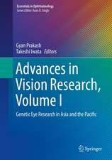 Advances in Vision Research, Volume I: Genetic Eye Research in Asia and the Pacific