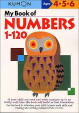 My Book of Numbers, 1-120