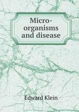 Micro-organisms and disease