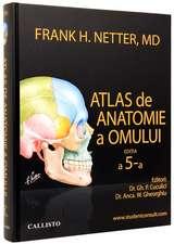 NETTER atlas de anatomie a omului, plus StudentConsult.com (activare online)