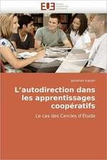 L Autodirection Dans Les Apprentissages Cooperatifs:  Approche Pheno-Corpusculaire