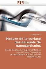 Mesure de La Surface Des Aerosols de Nanoparticules:  Bases Neurales