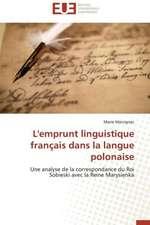 L'Emprunt Linguistique Francais Dans La Langue Polonaise:  Nouveaux Analogues Du Dha