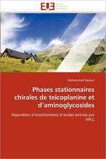 Phases Stationnaires Chirales de Teicoplanine Et D'Aminoglycosides:  Une Evaluation Du Modele Riskmetrics