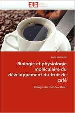 Biologie et physiologie moléculaire du développement du fruit de café