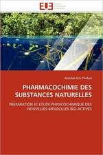 Pharmacochimie Des Substances Naturelles