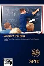 WAHBAS PROBLEM