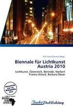 Biennale für Lichtkunst Austria 2010