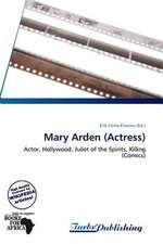 Mary Arden (Actress)
