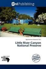 LITTLE RIVER CANYON NATL PRESE