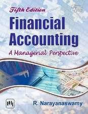 Narayanaswamy, R:  Financial Accounting
