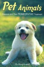 Pet Animals: Diseases & Their Homeopathic Treatment