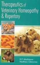 Madrewar, B: Therapeutics of Veterinary Homeopathy & Reperto