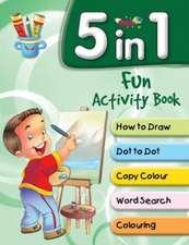 5 in 1 Fun Activity Book