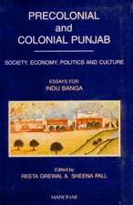 Precolonial and Colonial Punjab