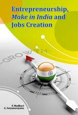 Entrepreneurship, Make in India and Jobs Creation
