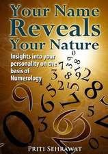 Your Name Reveals Your Nature