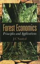 Forest Economics: Principles & Applications