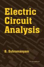 Subramanyam, B:  Electric Circuit Analysis