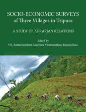 Socio–Economic Surveys of Three Villages in Trip – A Study of Agrarian Relations