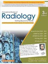 Conceptual Review of Radiology