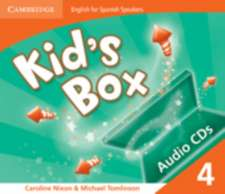 Kid's Box for Spanish Speakers Level 4 Audio CDs (4)