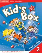 Kid's Box for Spanish Speakers Level 2 Pupil's Book