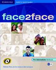 face2face for Spanish Speakers Pre-intermediate Workbook with Key