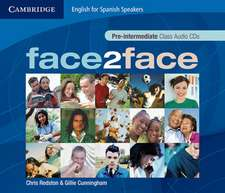 face2face for Spanish Speakers Pre-intermediate Class Audio CDs (4)