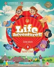 Life Adventures Level 3 Teacher's Book: Going Places