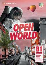 Open World Preliminary Workbook without Answers with Downloadable Audio English for Spanish Speakers