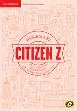 Citizen Z B2 Workbook with Downloadable Audio