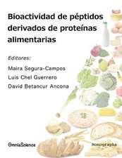 Bioactividad de Peptidos Derivados de Proteinas Alimentarias