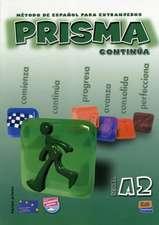 Prisma A2 Continúa - Libro del alumno