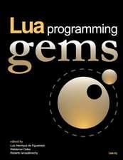 Lua Programming Gems