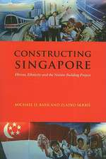 Constructing Singapore:  Elitism, Ethnicity and the Nation-Building Project