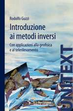 Introduzione ai metodi inversi: Con applicazioni alla geofisica e al telerilevamento