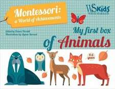 My First Box of Animals: Montessori a World of Achievements
