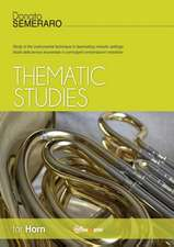 Thematic studies for horn