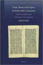 Time, Tense and Aspect in Early Vedic Grammar:  Exploring Inflectional Semantics in the Rigveda
